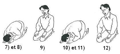 comment faire 4 rakat